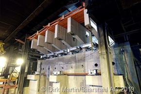 Neue fünfstränige Strangoeßanlage S1 bei Sarstahl