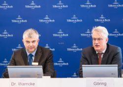 V&B Bilanzpressekonferenz