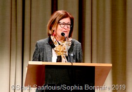 Bürgermeisterin Marion Jost betrachtete die Entwicklung aus dem Blickwinkel der Stadt Saarlouis