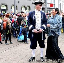 Prinzessin Rosi aus Menningen musste gemeinsam mit ihren Prinzen ihre Tanzkünste beweisen