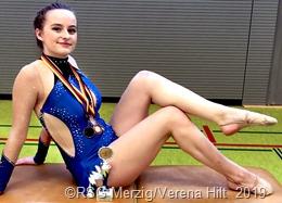 Daniela Frischbuter errang im Dreikampf die Bronzemedaille