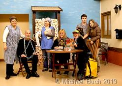 """Der Theaterverein """"Einigkeit"""" weiß sein Publikum zu unterhalten. Foto Archiv/Michael Büch"""
