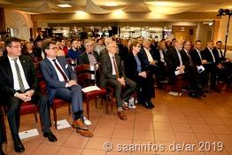 Zahlreiche Bürgermeister und Repräsentanten der Gemeinden aus denen die Landesbesten kommen nahmen an der Ehrung teil.