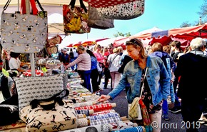 """In Bouzonville """"steppte der Bär"""", Tausende von Besuchern füllten das Städtchen"""