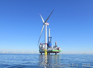 Offshore-Windpark Rentel 1© Sif Netherlands B.V. b