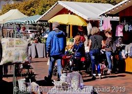 Traditioneller Gründonnerstagmarkt In Dillingen