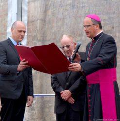 Bistumsmedaille für Horst Ziegler