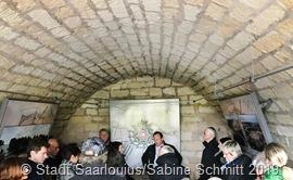 FestungsführungTonnengewölbe