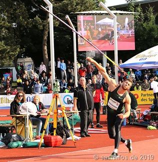 Andreas Hofmann hält seit dem vergangenen Jahr den Stadionrekord im Speerwurf mit 91,44 Metern
