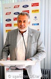 Bürgermeister Ralf Collmann begrüßte die Gäste beim Empfang der Sportler