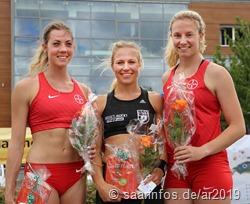 Die der Siegerinnen (vr) Ria Möllers, Stefanie Dauber, Katharina Bauer