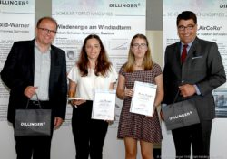Verleihung des-Schülerforschungspreis-von-Dillinger Foto: Nicole-Munninger