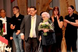 90jährige Irmgard Hillen.