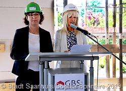 Die Familien und die zukünftigen Bewohner freuen sich auf die Fertigstellung des Gebäudes