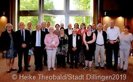 Langjährige und ausscheidende Mitglieder des Dillinger Stadtrates wurden geehrt