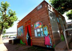 Les Oides von Grafitti-Künstler Charles Cantin