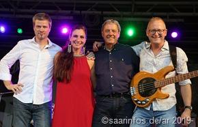 Sabrina Boncourt & Band Kulturbühne Dillingen 01.08.19