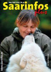 Titelbild Saarinfos Plus - Ausgabe August/September 2019