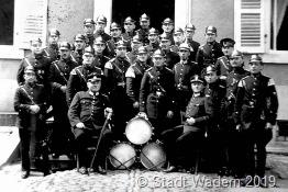 Gruppenaufnahme der Feuerwehr Wadern, 1930er Jahre (Foto: Stadt Wadern)