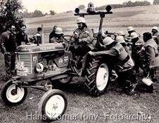 Absolute Besonderheit: Der Feuerwehrtraktor, LBZ Wochern,1989