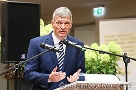 Landtagspräsident Toscani appellierte an die Schüler