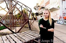 Kira Braun, Landesvorsitzende der saarländischen Jusos