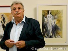 Dieter Ernst  hielt die Laudatio