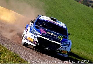 Hermann Gassner jr.  gewann die Drei Städte Rallye und belegte in der DRM den 2. Platz