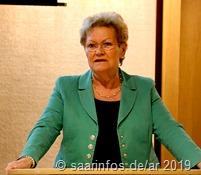 9110 Ministerin Monika Bachmann bei ihrem  Grußwort