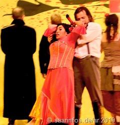 Don Jose ermordet Carmen aus Eifersucht