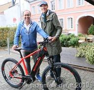 Auch Fahrräder mit elektrischem  bzw. alternativem Antrieb konnten getestet werden
