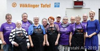 Saarstahl unterstützt Tafel VK 2019