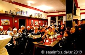 Die Gaststätte Alt Bupprich war bis auf den  letzten Platz gefüllt 1489
