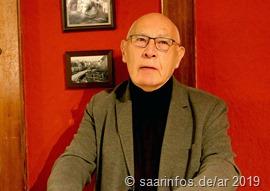 Autor Elmar Schmitt hielt enen launigen Vortrag zu Thema Legende und Wahrheit   1493