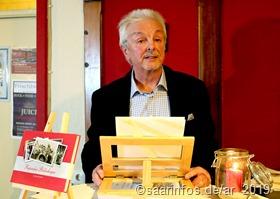 Journalist Dieter Lorig präsentierte das neue  Buch   1496