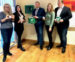 Defibrilatoren in den IKK Kundencentern