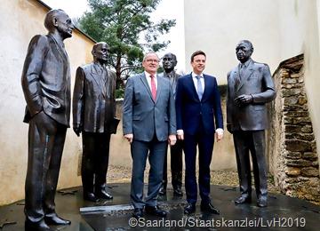 2620  Besichtigung des historischen Schuman-Hauses in Scy-Chazelles