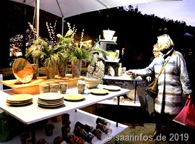 Das  Angebot auf dem Schwemlinger Kunsthandwerkermarkt ist traditionell hochwertig