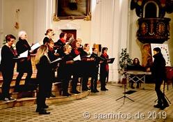 Das Konzert des Frauenchors Femin'In  gehörte zu den Highlights des Siersburgerger Adventsmarktes