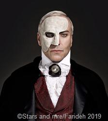 Musicalstar Uwe Kröger in der Rolle des Phantoms