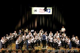 4157 Der Musikverein Dillingen-Pachten unter der Leitung von Thomas Kopp