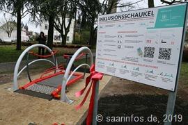 4181 Die Inklusionsschaukel im Dillinger Stadtgarten