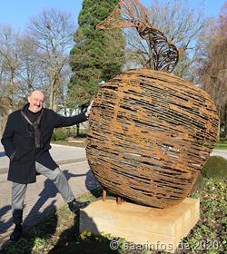 """4534  Der Künstler David """"Dato""""  Mcheidse und sein Werk"""