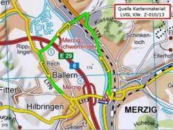 Skizze Verkehrsführung