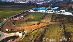 Auf dem 6,7 ha großen Gebiet entsteht ein Gewerbepark