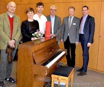 Beim Konzert in der DRK Klinik Mettlach