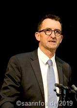 Reinhold Jost bei derVereidigung von Wolfram Lang als Schmelzer Bürgermeister