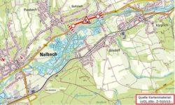 Darstellung auf Landkarte