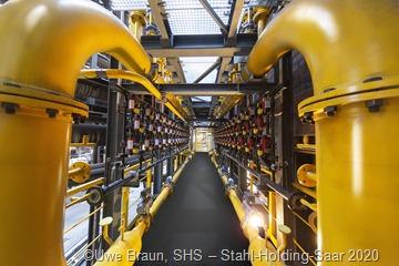 Die Effizienz wird auch nach Projektabschluss ESTA weiter gesteigert. Der Bau der Koksgaseindüsungsanlage ist eine zukunftsweisende Investition, bei der erstmals zur CO2-Reduzierung im Hochofenprozess auf die Verwendung von Wasserstoff gesetzt wird.