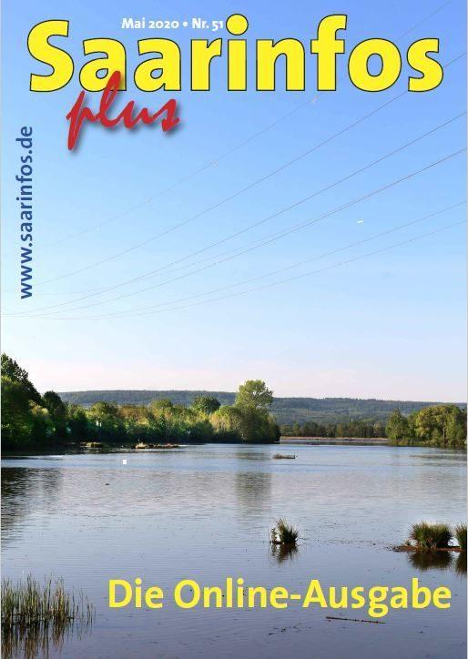Titelbild Saarinfos Plus - Ausgabe 51 - Mai 2020